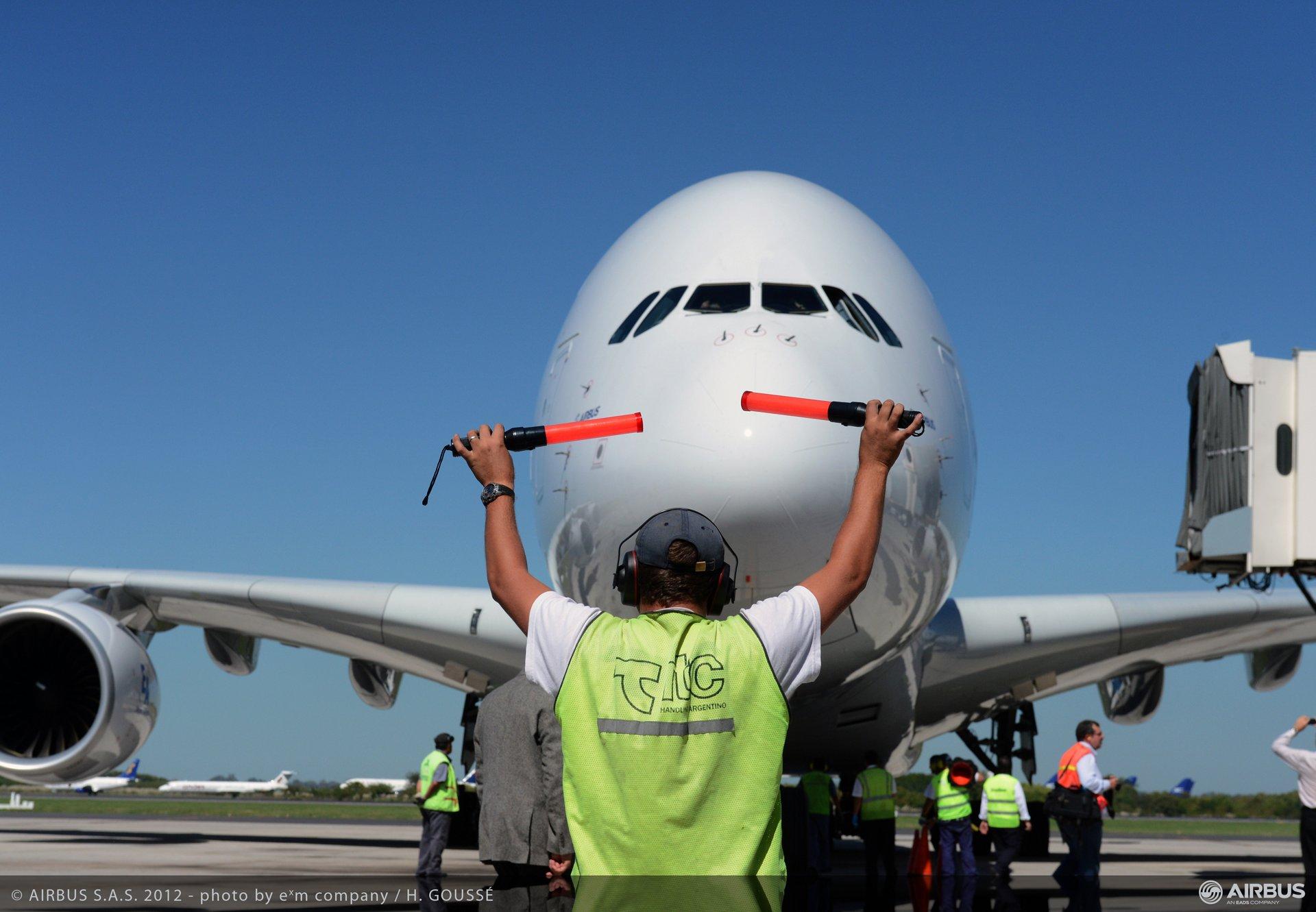 A380 tour Buenos Aires 2