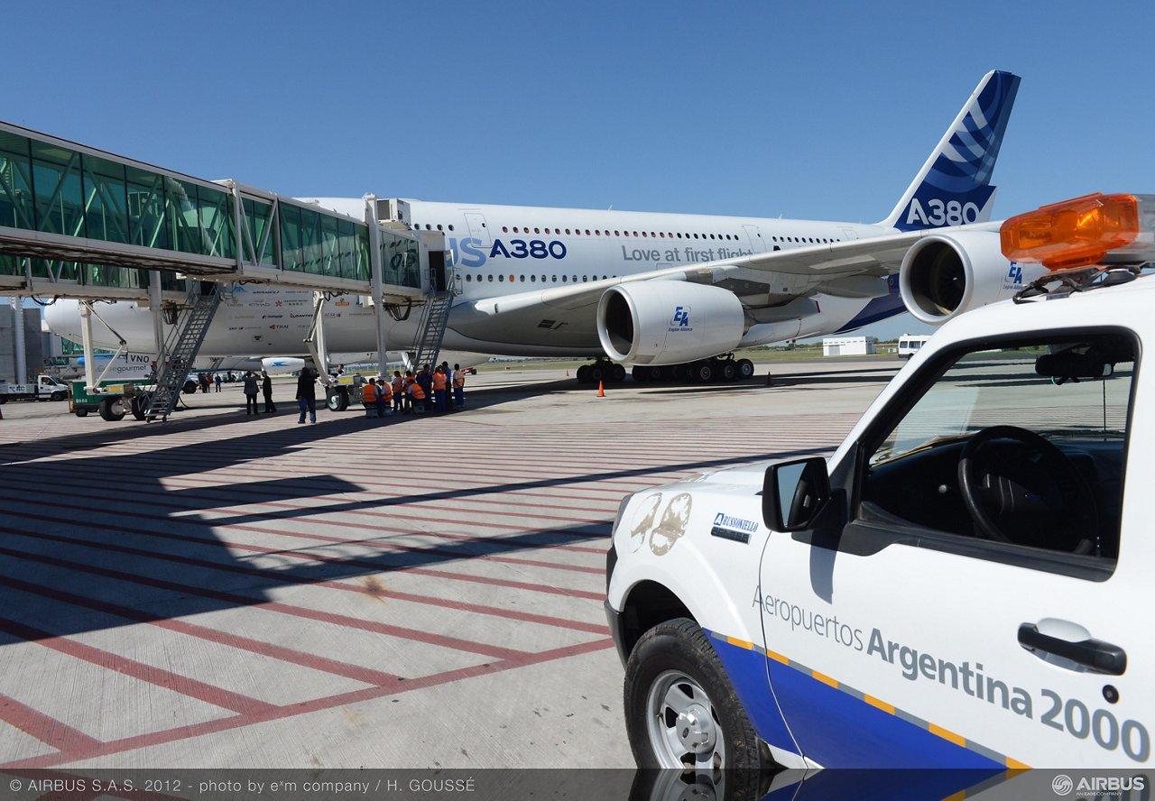 A380 tour Buenos Aires 4