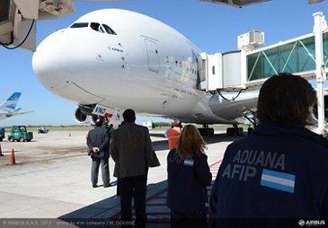A380 tour Buenos Aires 5