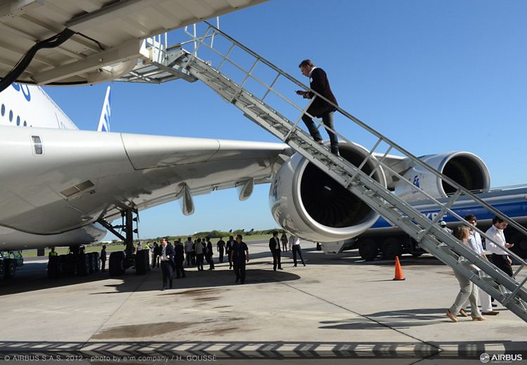 A380 tour Buenos Aires 7