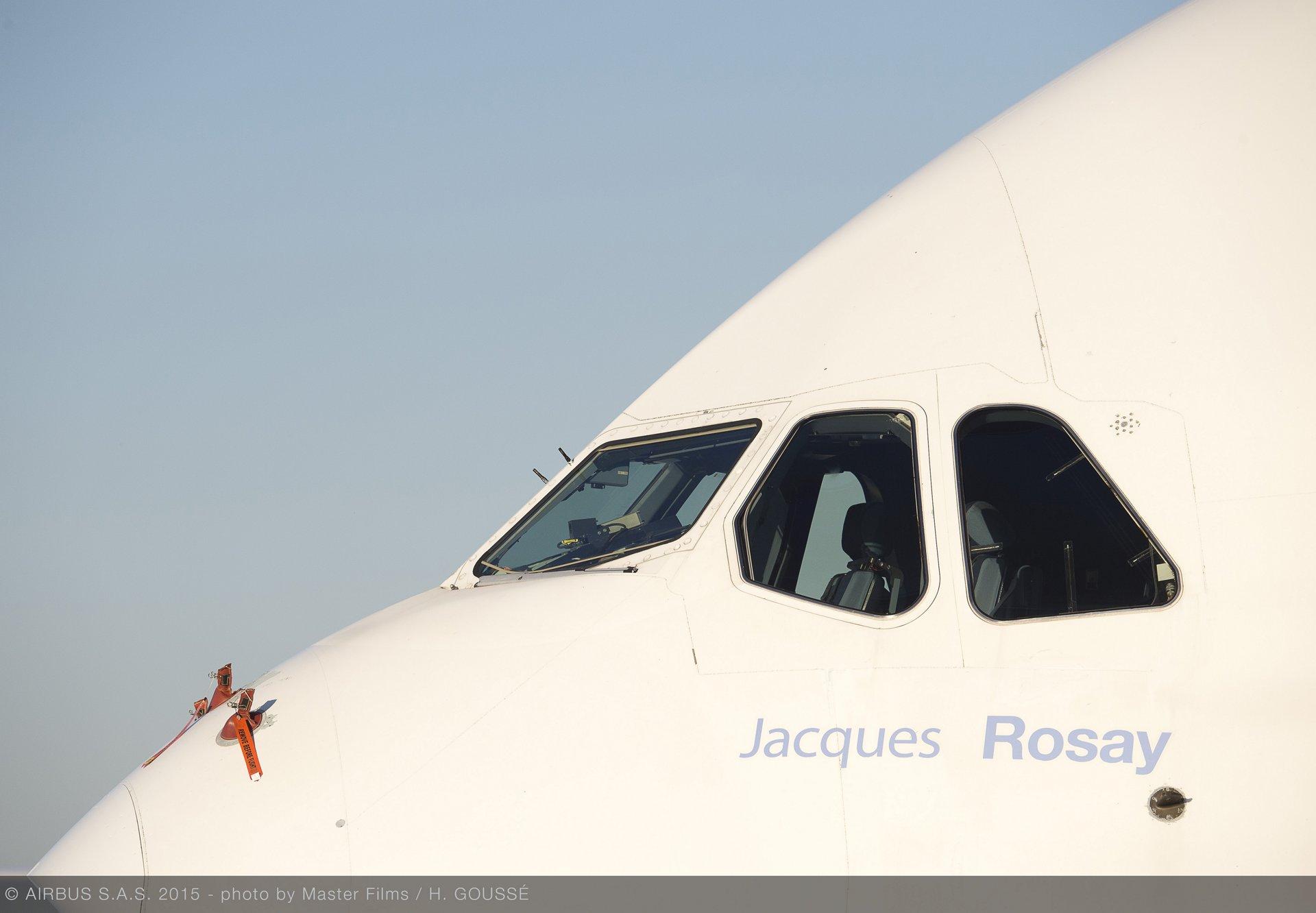 A380 MSN 001 naming: Jacques Rosay_1