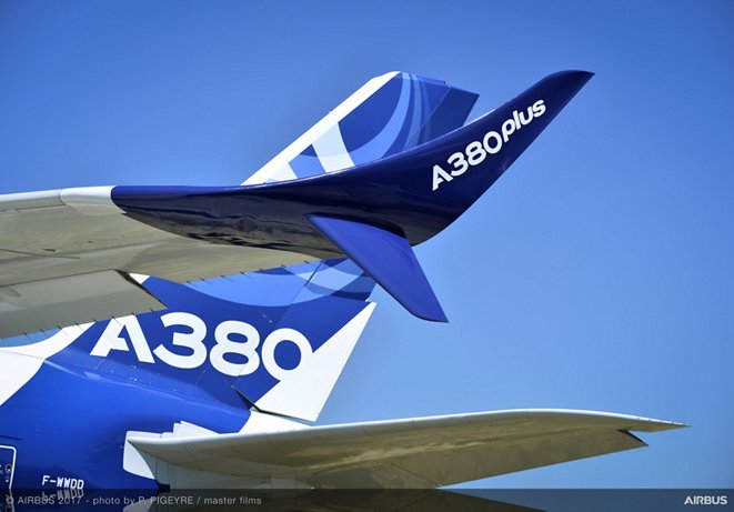 A380plus Featuring New Large Winglets Day0 PAS2017