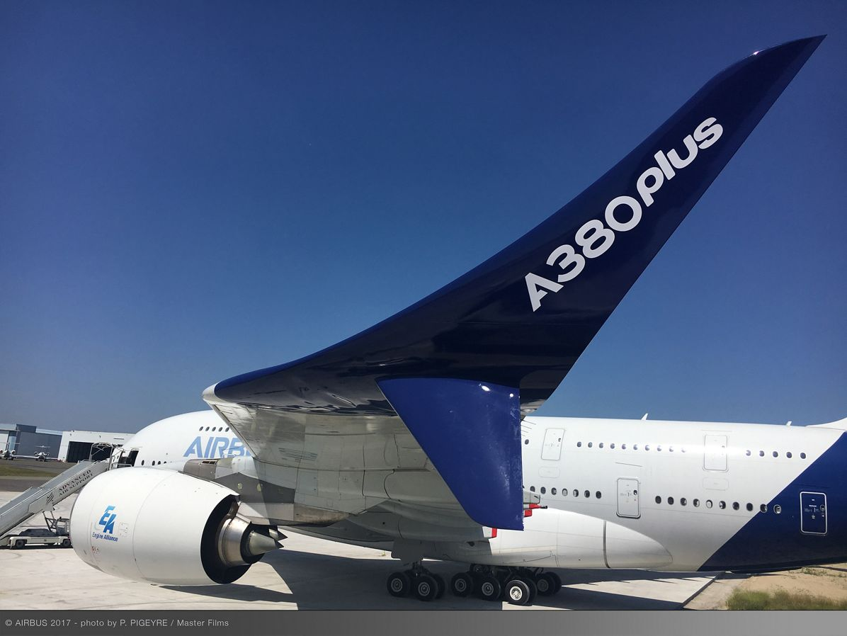 Airbus presents the A380plus