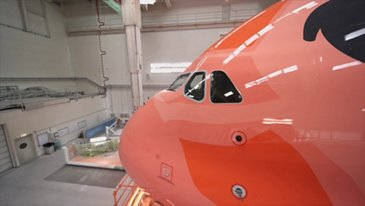 Roll-Out of All Nippon Airways' third A380 from the Paintshop - BRoll