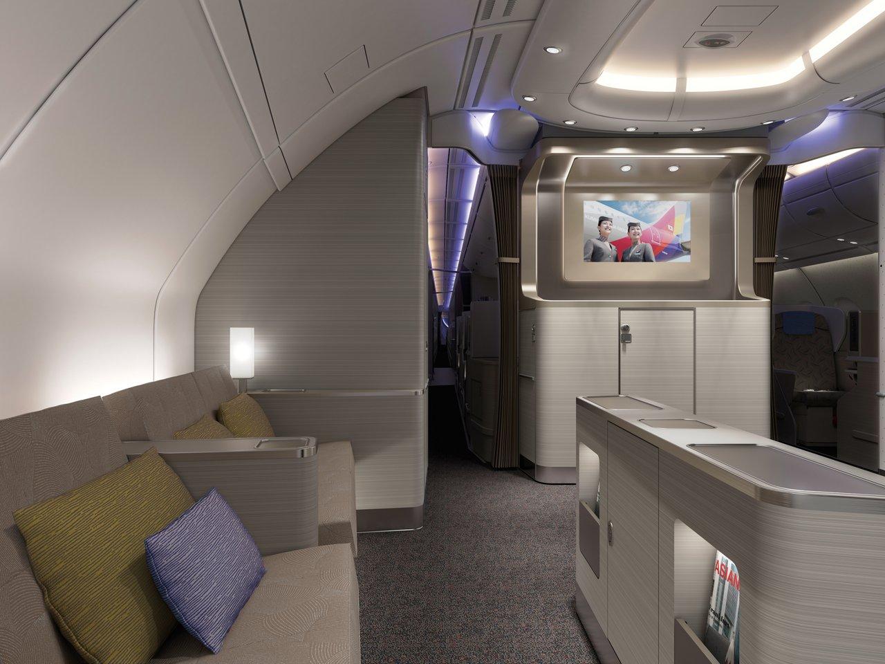 Airbus A380 BC15 Bar Lounge  1