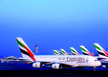 Emirates A380 Fleet Dubai International
