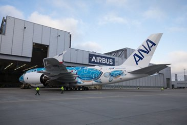 Initial A380 for Japan's ANA