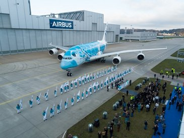 All Nippon Airways' first A380