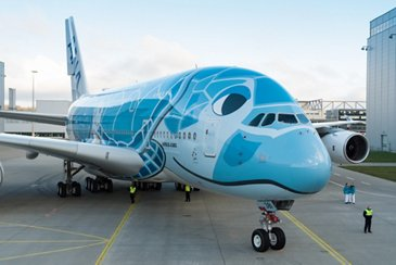All Nippon Airways' initial A380
