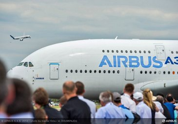 Flight demo A380 A350 XWB-day3