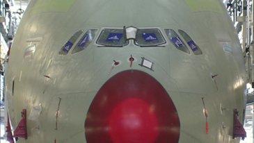 最后A380在图卢兹推出车站40