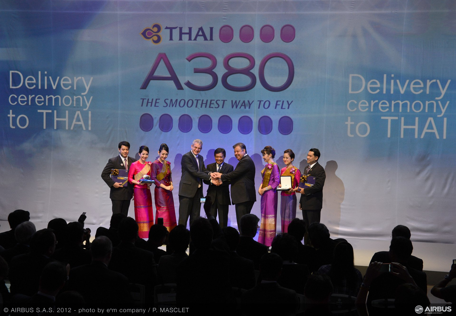 A380 THAI delivery ceremony