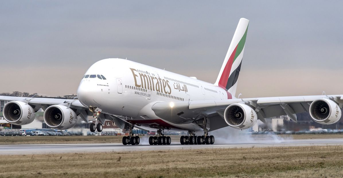 PHOTO A380 Emirates RR