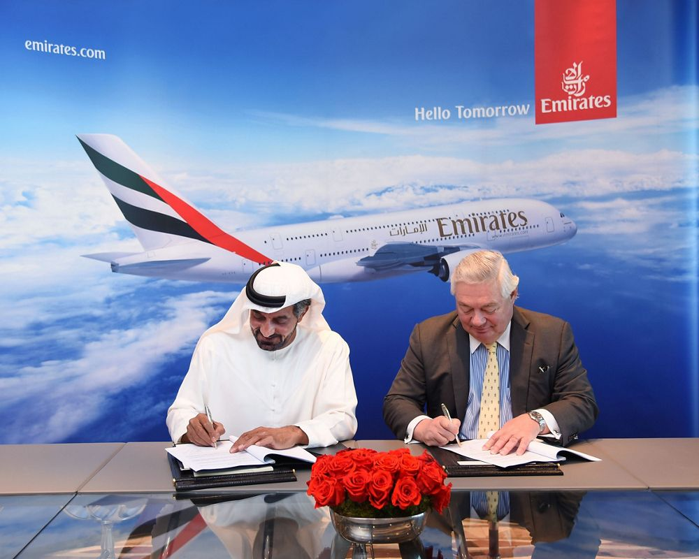 Emirates signs MoU for 36 A380s 1
