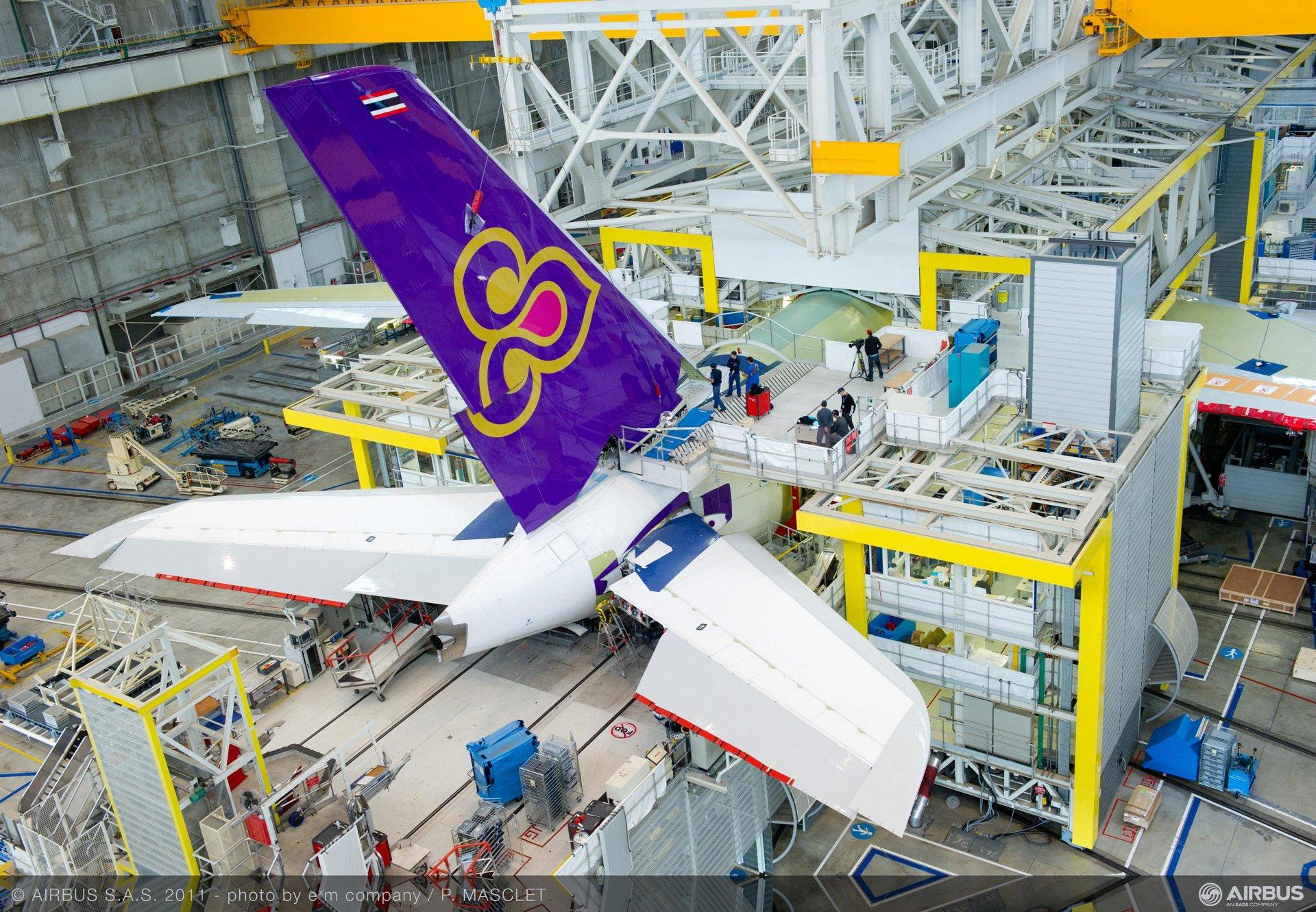 THAI A380 FAL