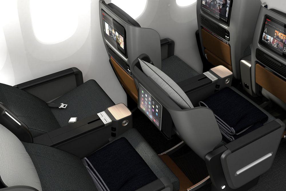 Qantas A380 Cabin Upgrade Premium Economy