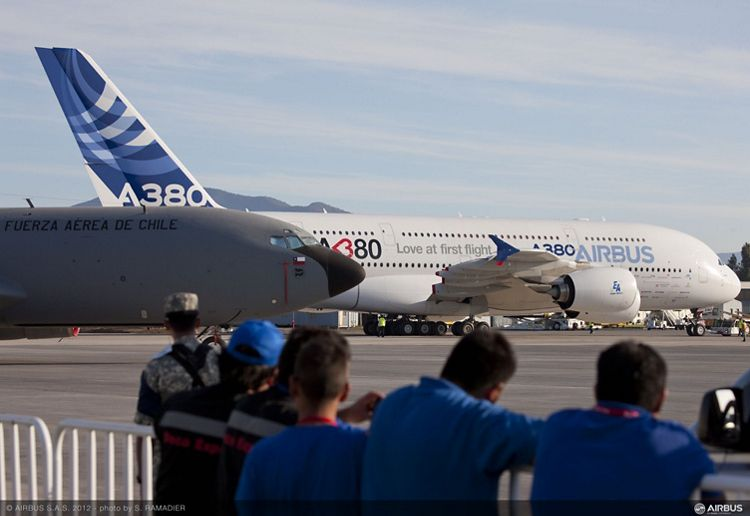 A380 tour in Latin America