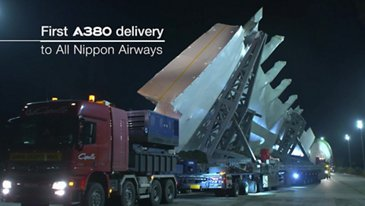In the making: All Nippon Airways' first A380