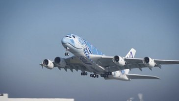 A380 ANA Take Off
