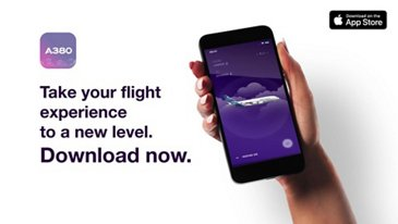 Airbus launches iflyA380 iOS app taking passengers' experience to a new level