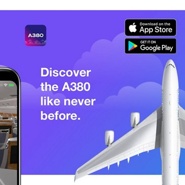 IflyA380 Android App Launch 2