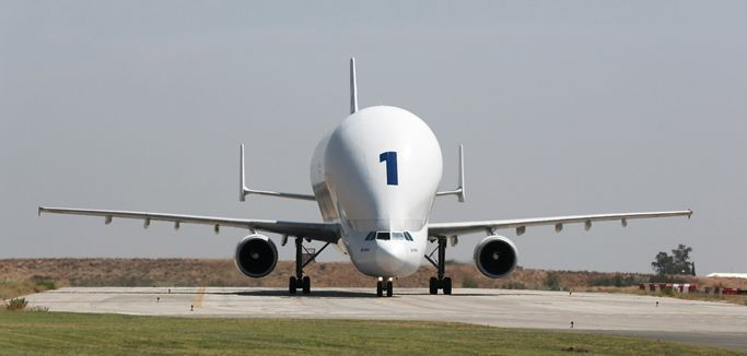 Airbus Beluga – No. 1 aircraft on ground