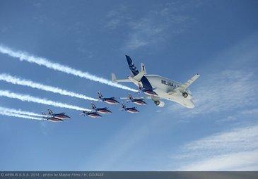 Airbus Beluga - Patrouille de France 1