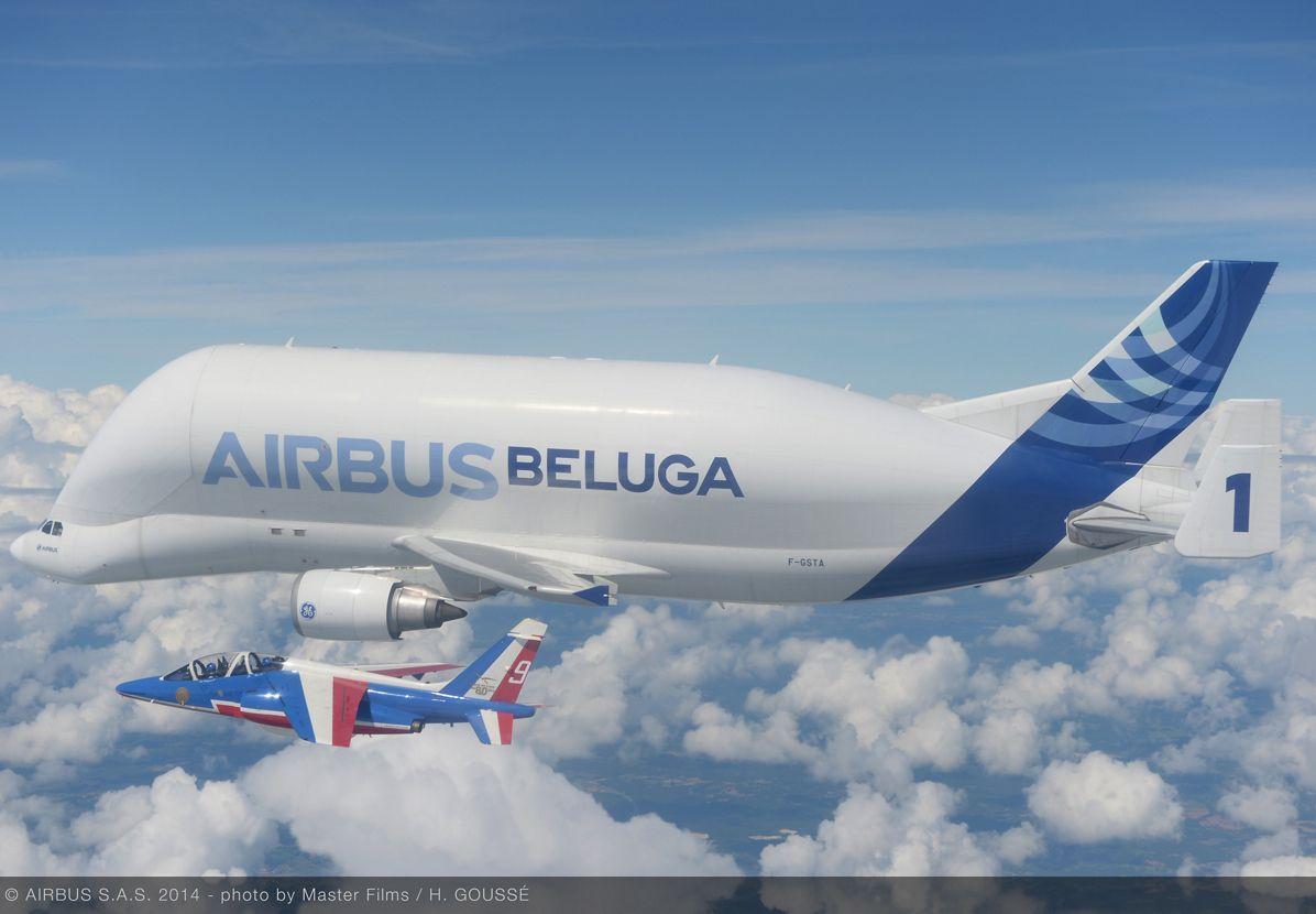 Airbus Beluga - Patrouille de France 4