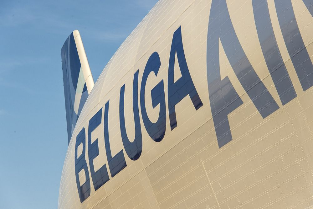 Airbus Beluga – Fuselage close-up 3