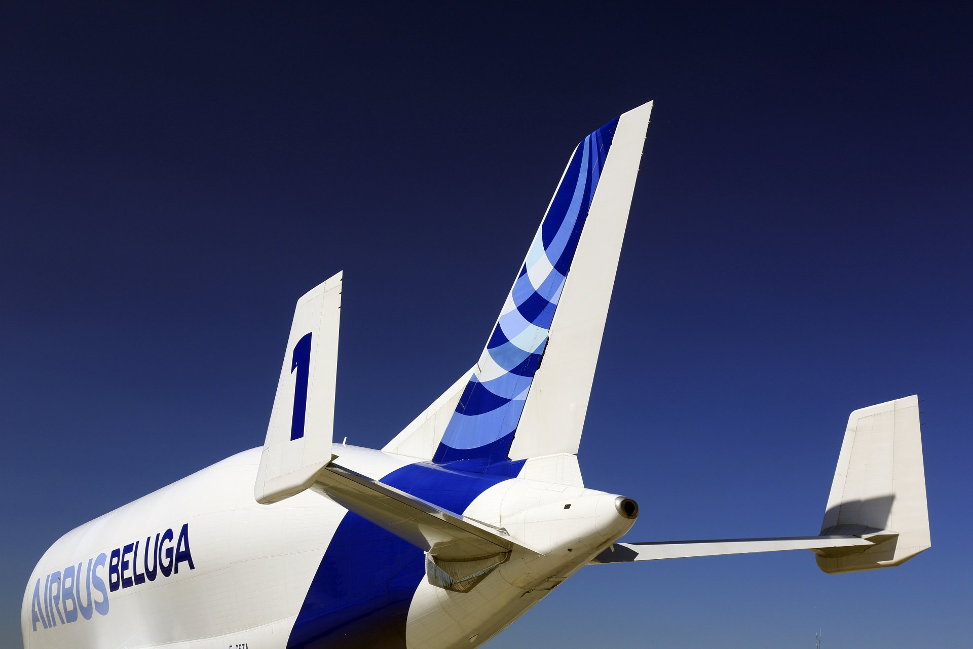 Airbus Beluga – Tail close-up 1