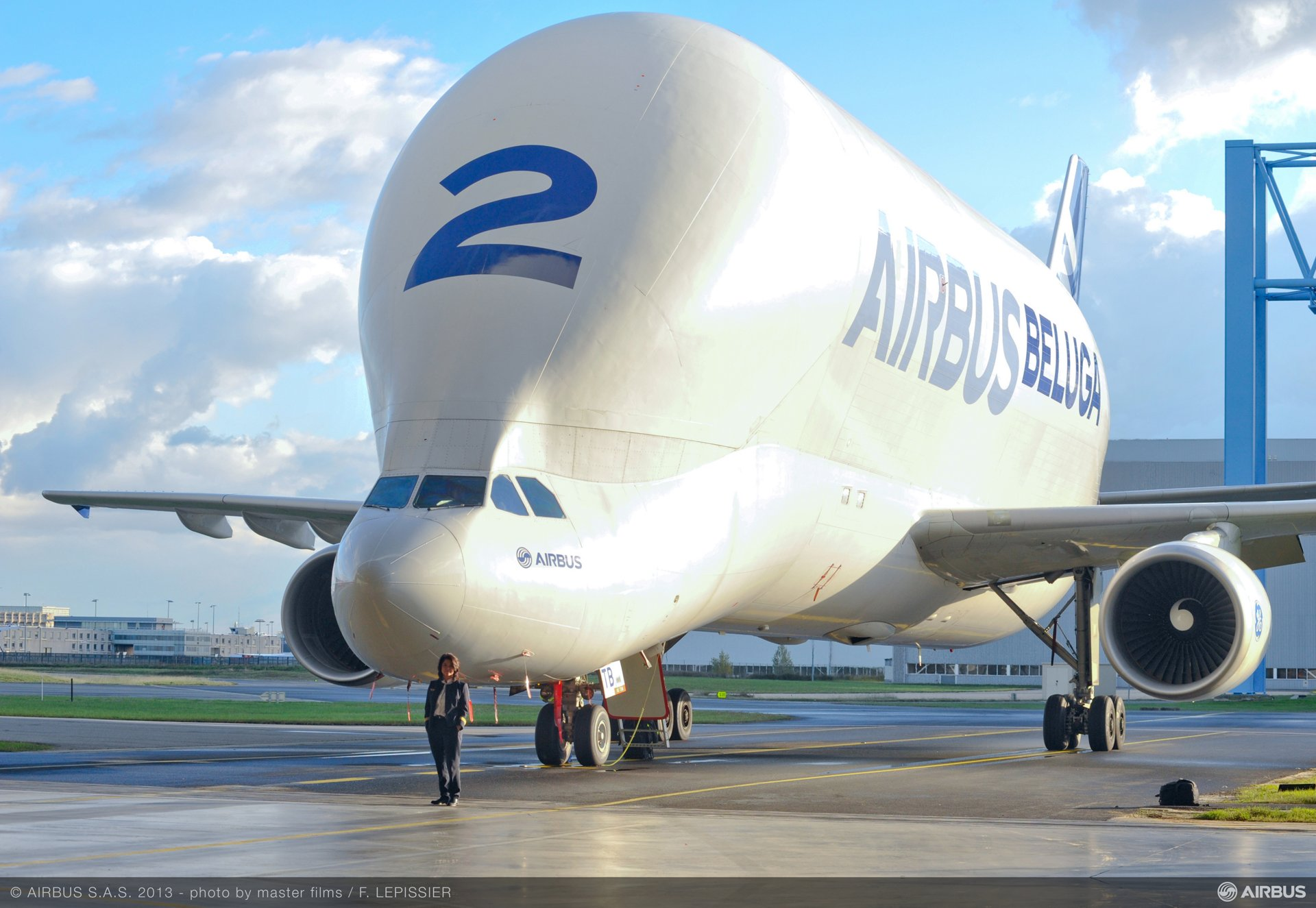 Airbus Beluga – No. 2 aircraft on ground