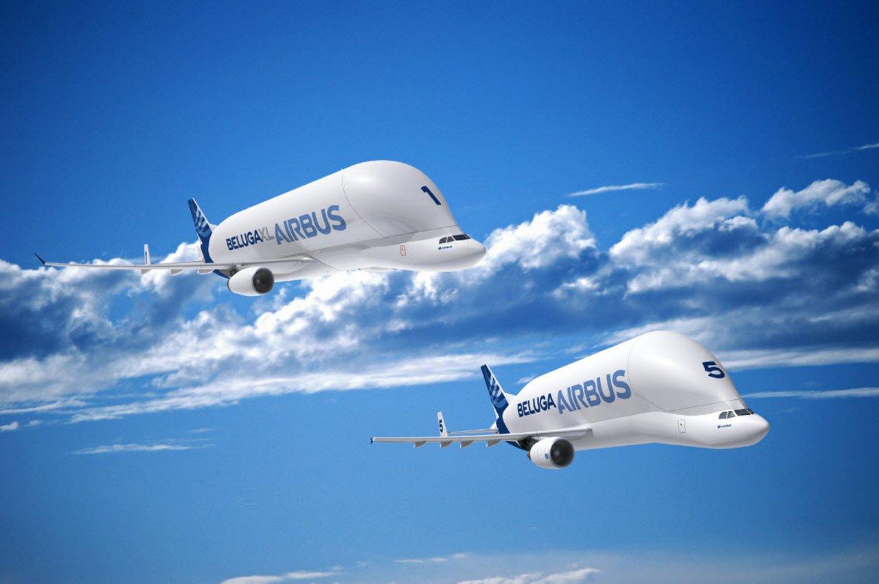 Beluga XL and Beluga ST