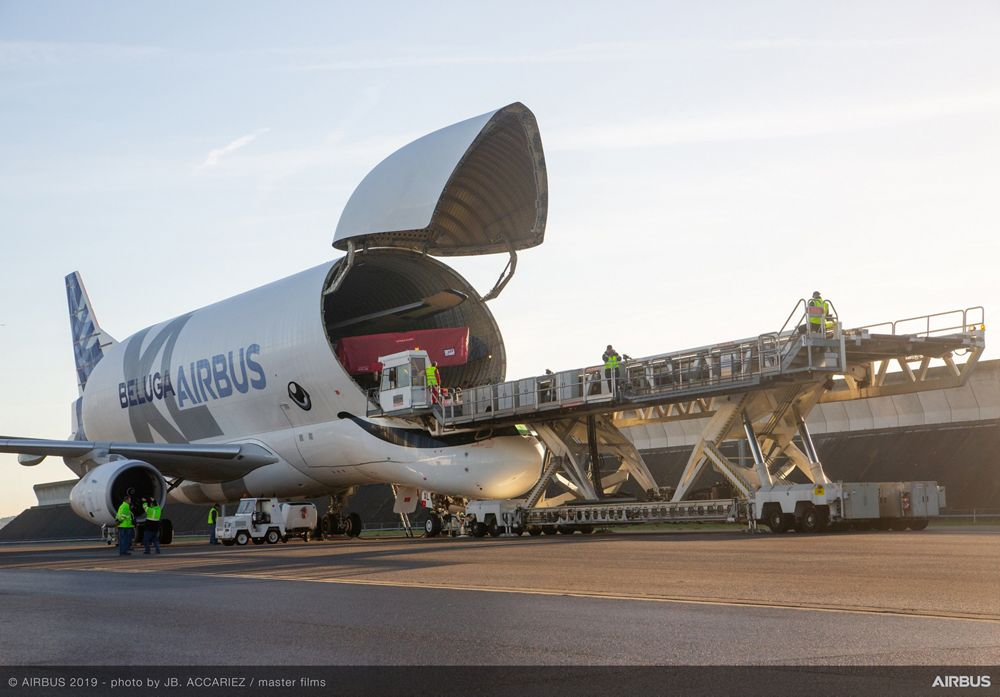 "The BelugaXL delivers an ""extra-large"" role for its team of loadmasters"