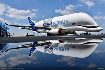 BelugaXL with special livery
