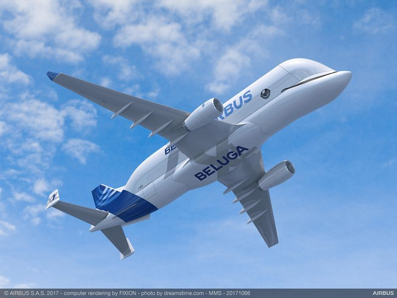 https://airbus-h.assetsadobe2.com/is/image/content/dam/products-and-solutions/commercial-aircraft/beluga/belugaxl/BelugaXL_Livery_design_3.jpg?wid=800&fit=constrain