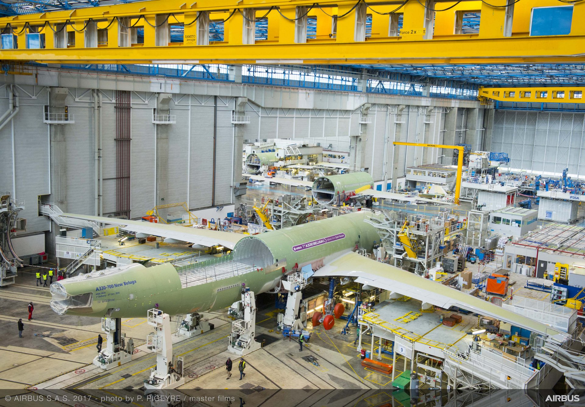 Beluga XL_Core airframe integration 6