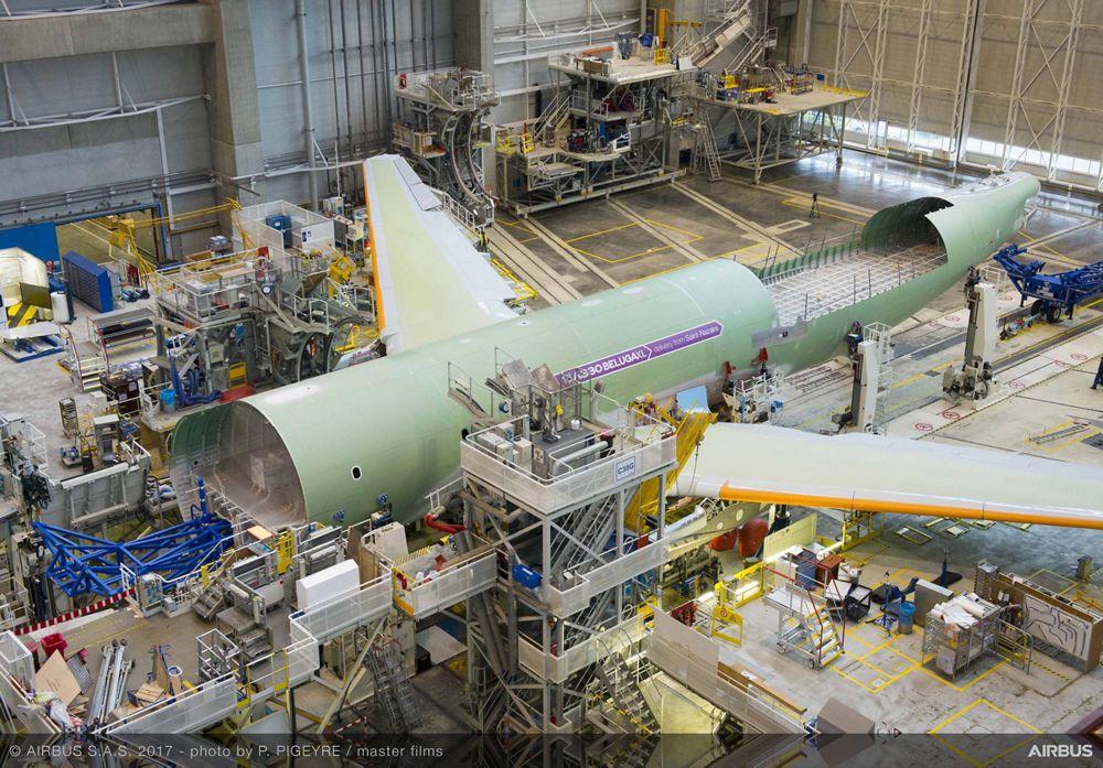 Beluga XL_Core airframe integration 7