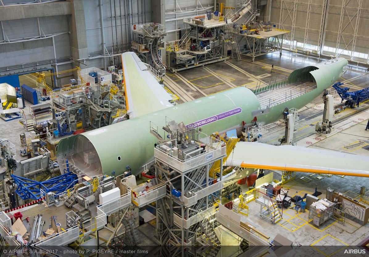 Beluga XL_Core airframe integration 7