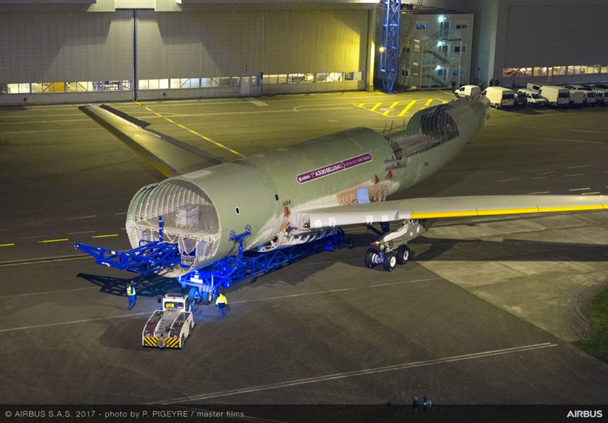 Beluga XL_Core airframe integration 5