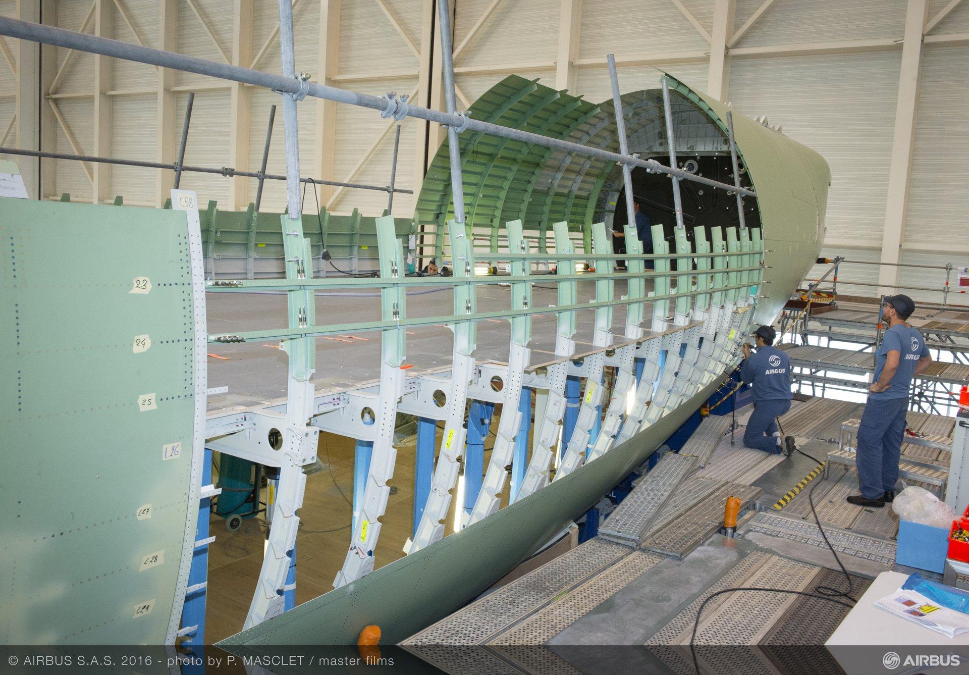 Beluga XL_Core airframe integration 1