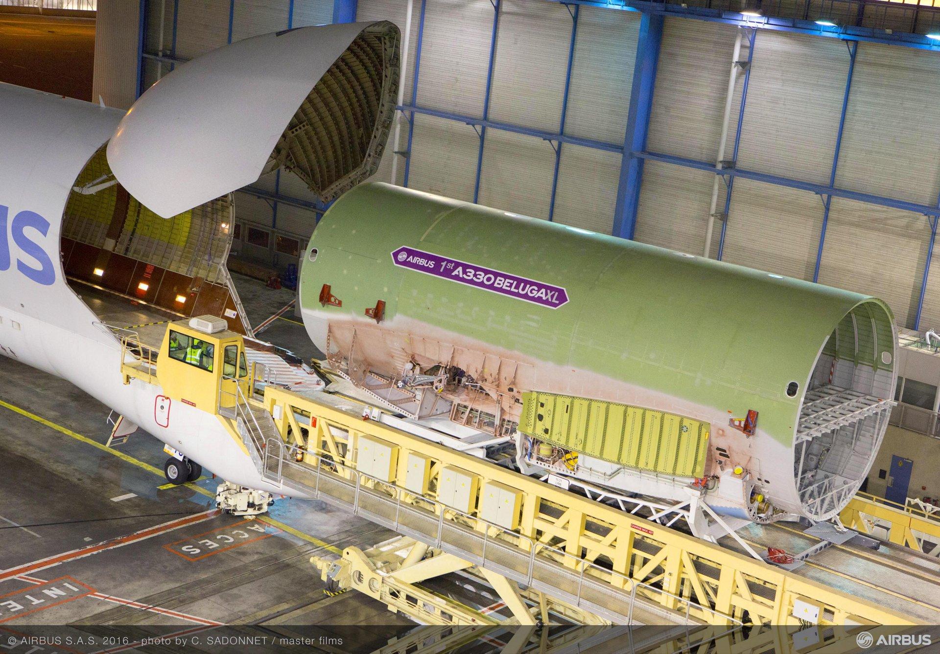 Beluga XL_Core airframe integration 2