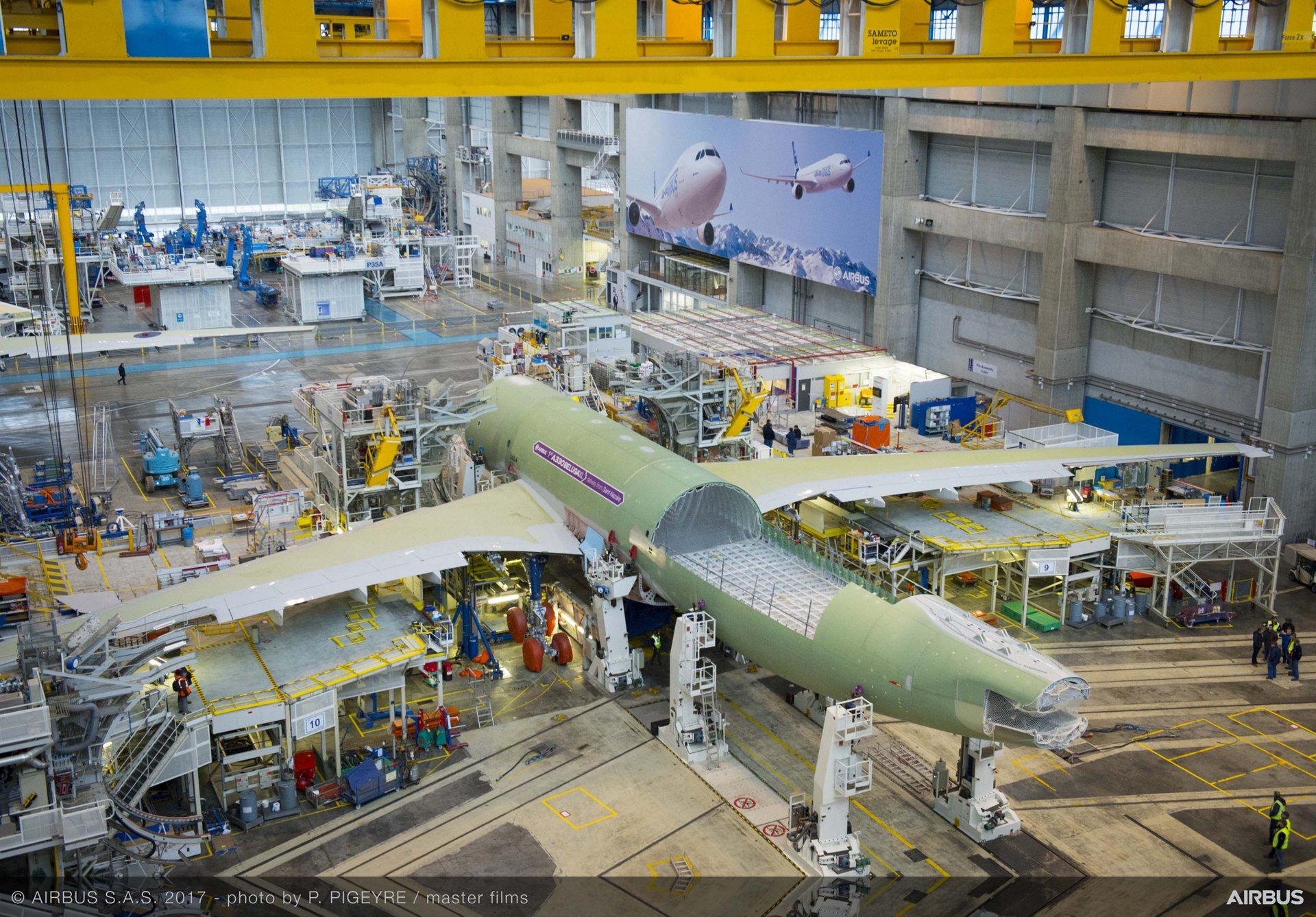 Beluga XL_Core airframe integration 8