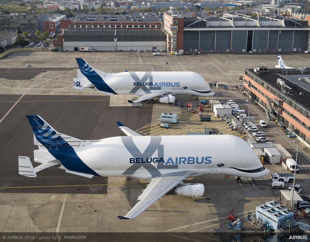 BelugaXL Flight tests