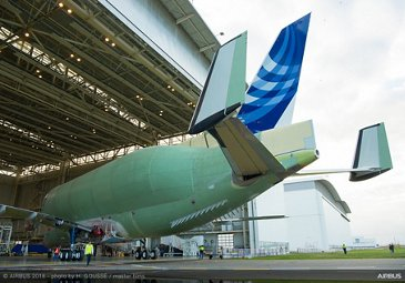 Structurally complete No. 1 BelugaXL 3