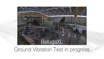 BelugaXL ground vibration test