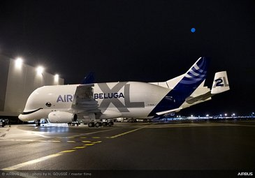 First BelugaXL delivered to ATI – On ground