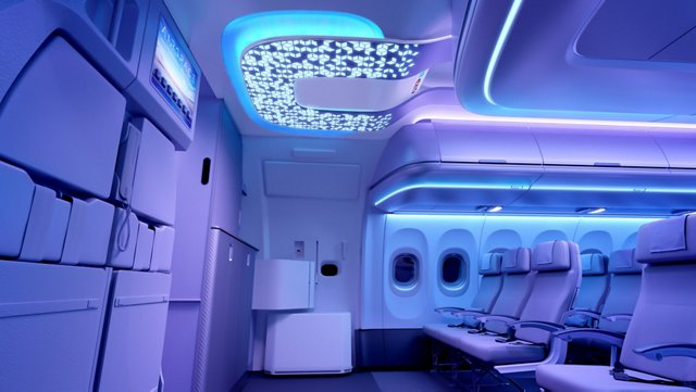 Airbus' new Airspace cabin offers award-winning design, comfort and convenience