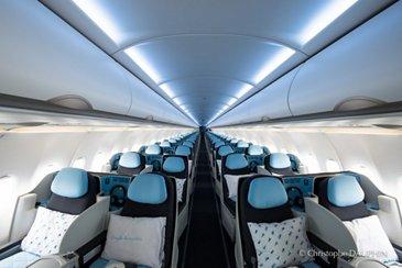 La Compagnie's A321neo – cabin
