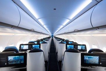 La Compagnie's A321neo – interior