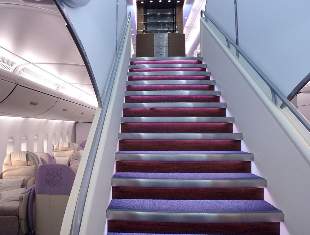 A380 Airbus Cabin   Forward Stairs1